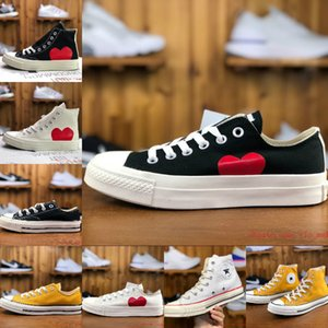 Men 1970s Chuck 70 Multi Heart 70s Hi Canvas Shoes Classic 1970 Jointly Name Skateboard Trainers Women Casual Shoes Classic Conversb97b#