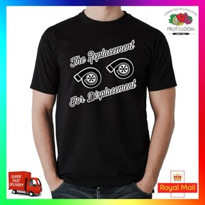 The Replacement For Displacement Twin Turbo TShirt T-Shirt Tee Car Tuner JDM