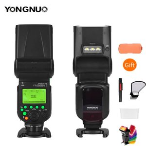 YONGNUO YN968N II فلاش Speedlite لDSLR متوافق مع YN622N YN560 WirelessL و speedlite 1/8000 مع الصمام الخفيفة