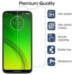 9H temperli cam için Motorola Moto G7 Artı G8 Powper G9 Çal Ekran Koruyucu için Moto E6 6S E7 Artı P40 P50 Koruyucu Cam Film oyna