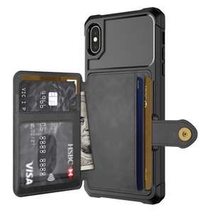 Mobile Phone Case with leather For iPhone11 pro 7 iPhone XS XR max 8 plus Phone shell