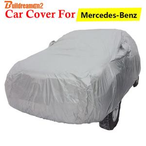 Buildreamen2 Car Cover Sun Shade Rain Snow Protector Auto Cover For - E Class E300 E300D E320 E350 E420 E430 E500