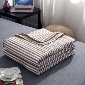 Air-conditioned Thin Blankets for Beds Office Sofa Air Conditioning Throw Blanket The new washed cotton summer cool quilt