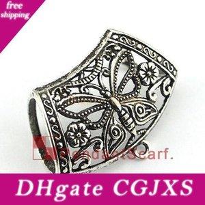 Nouveau style Diy Pendentif écharpe Bijoux Accessoires Design Papillon Métal Charm #Neuf Bails Slide, Livraison gratuite, Ac0380