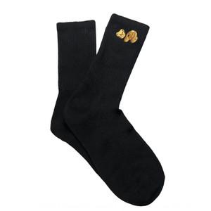 PALM palmeras ángel ángulo decapitado medias medias oso deporte del algodón unisex Medio corto calcetín