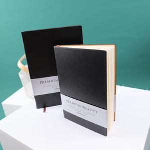 A4 / A5 souple épais NoteBook Thème Journal Notebook Journal Planner Agenda couverture en cuir Bureau fixe école Business Notebook