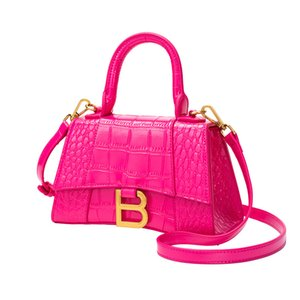 sacs à main en forme de sablier en forme de B 2020 nouvelle dames motif crocodile sac messager d'épaule carré sac à bandoulière