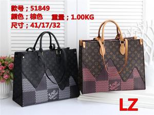 2020 stili di pelle Nome borsa Famoso borse delle donne Tote dei sacchetti di spalla della signora Handbags M Borse borsa LZ51849