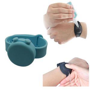2PC Handwash Wristbands Adult Kid Liquid Hand Dispenser Wristband Wrist Band Gel Whole Sanitizing Hand Sanitizer Dispensing P810