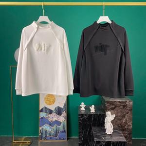 2020SS Erken Sonbahar Yeni Moda Hoodie Mürettebat Yaka Triko Kadın Erkek Giyim Yüksek Kaliteli En tişört i98