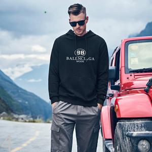 balanciaga Mens Clothing Homme Hooded Sweatshirts Mens Women Designer Hoodies High Street Supremo Print Hoodies Pullover Winter Sweatshirts