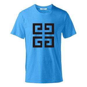 Moda Uomo T shirt Polo nuovo arrivo degli uomini della lettera donne di alta qualità stampa casuale manica corta famoso Mens Stylist Tees 8 colori S-6XL GIV
