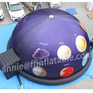 Customized 8m Giant 360 gradi gonfiabile Planetario Dome casa proiezione Tenda Planetario Dome proiettore mobile Cinema Per cupola 3D Cinema