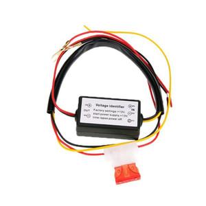 Car LED diurnas Controlador Luz Relé Harness Dimmer On / Off 12-18V Fog Light Controller Nova