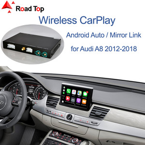 Wireless Apple CarPlay Android Auto Interface for Audi A8 2012-2018, with Mirror Link AirPlay Car Play Functions