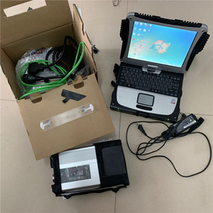Super MB Star C5 SD Connect with 2020 09 hdd 320gb with Toughbook CF19 Laptop cf-19 ready to use diagnosis tool