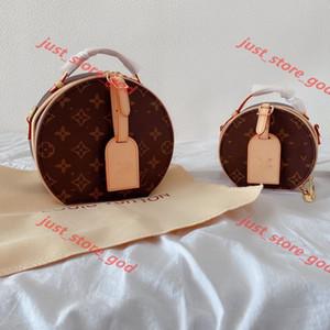 Louis Vuitton Drum Bag n pelle sacchetto dell'unità di elaborazione di 2020 donne di vendita caldo lusso Designer Handbag Telefono retrò spalla stampa Pattern Chain Pochette Wome