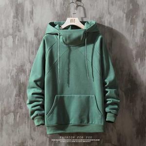 solid Hoodies Men New Fashion Sweatshirt Male Camo Hoody Hip pure color Hoodie Mens Clothing