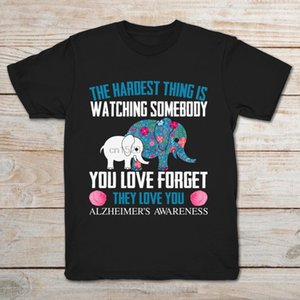 Elephants The Hardest Thing Is Watching You Love Somebody Oublier Ils Love You T-shirt