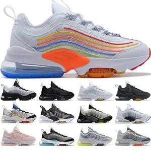 ZM950 Hombres Mujeres Zapatos Negro Triple Oreo neón blanco de la plata del arco iris 950S para mujer para hombre entrenadores deportivos zapatillas de deporte Zapatos Tamaño 36-45 Running