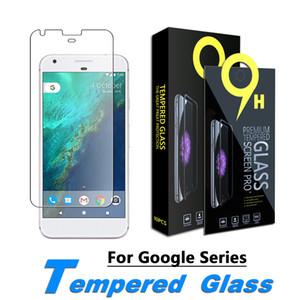Schirm-Schutz für Google Pixel XL, Google Pixel 5.0, Google Pixel 2, Google 2 XL Ausgeglichenes Glas-Film 0,33 mm mit Papierkasten