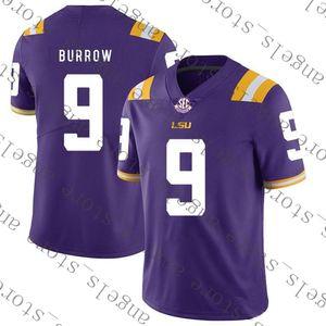 9.23 NCAA 9 Burrow Purple American football Jersey Ohio State Buckeye 97 Bosa University 7 Haskins Jr Tom 10 Brady 7 Kaepernick 26 Barkley