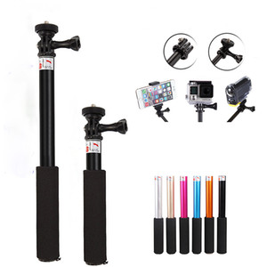 Designer 4 In1 wireless bluetooth selfie stick tripod foldable & monopods universal for smartphone for gopro and sports action cameras