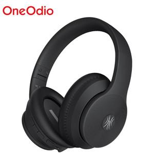 OneOdio A40 Bluetooth V5.0 Kulaklıklar Aktif Gürültü Engelleme Kablosuz Kulaklık ile Mikrofon İçin Telefon Müzik Katlanabilir Kulaklık
