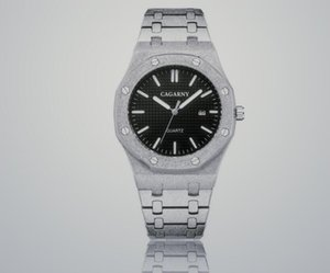 Простой конструктор досуг мужские часы из нержавеющей стали Кварцевые Наручные часы Секундомер Часы relogies для мужчин Relojes лучший подарок