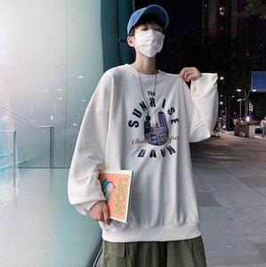 Luxury designer 2020 autumn and winter new trendy brand crew neck sweater men