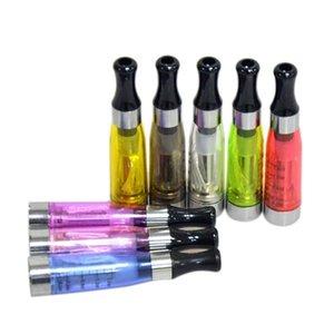 Vape Oil Cartuchos Ce4 Atomizador 510 Thread 1 .6ml Clearomizer redonda preta porta-voz de E Cigarette Starter Kits Vape Tanque Atomizador