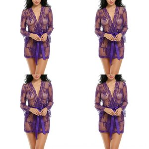 2019 Новой перспектива сексуального Suspender юбки белья Sling белье кружево сетка сорочка юбка подвеска