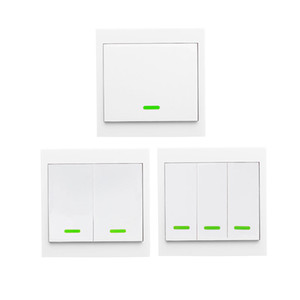무선 원격 송신기 스티커 RF TX 스마트를 들어 홈 거실 침실 433MHZ (86) 벽 패널 작품으로 SONOFF