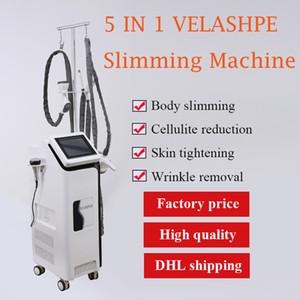 Удаление растяжек Velashape Вакуумный роликовый массаж Вела форма лазерного луча Омоложение кожи Velashape машина для похудения