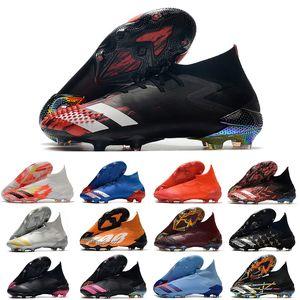2021 chuteiras shoes predator mutator 20 + fg in Uniforia Pack Turf PP Paul Pogba Mens 슬립 온 축구 축구 구두 20.1 Cleats 부츠 39-45