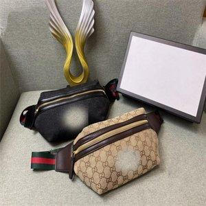 Mens del progettista della vita delle signore di sacchetto di lusso Fannypack borse petto borsa del progettista per le donne di lusso Moda circolare Fanny crossbody pacchetto 20062 LoP