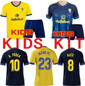 جديد 2020 2020 2021 كاديز لكرة القدم الفانيلة Cádiz CF Camisetas de Fútbol Chándal Lozano Alex Budiger Juan Cala Camiseta A Shirts Liga Kids Football