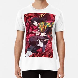 Demon Slayer Giyu Tomioka T Shirt Demon Slayer Giyu Tomioka Anime Manga Otaku Katana Modern Abstract Pattern