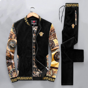 2020 neue Marke Sportswear für Männer, Mode Sport Joggen bequeme Sportkleidung, High-End-Atmosphäre Winter Mode lässig style # Q218