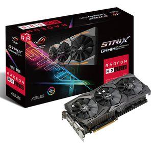 Asus ROG-STRIX-RX580-O8G-GAMING 8G / 8000MHz 256bit GDDR5 PCI-E3.0 Raptor Графика