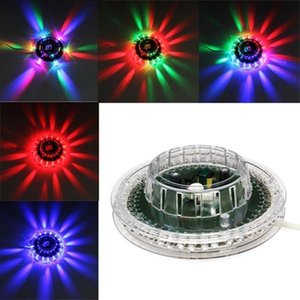 Ufo Portable Laser Stage Lights 8w Rgb 48 Leds Sound Activated Sunflower Led Lighting Wall Lamp For Ktv Dj Wedding Christmas