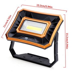 Adjustable Lanterns With Built-In Battery Spotlight Rechargeable For Outdoor Camping Lamp Led