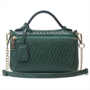 Мода Женщины Любимый страуса клатчи Ins Горячие продаж сумки Python сумка Клатчи женские партии вечера мешок