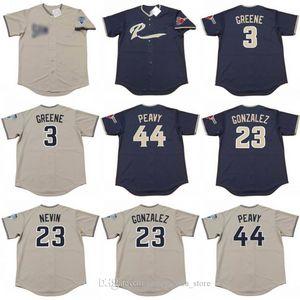 Men 3 Khalil Greene 23 ADRIAN GONZALEZ 44 Jack Peavy de San Diego 2004 Jersey de béisbol 02