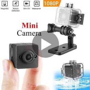 Impermeable mini DV cámara SQ12 SQ 12 visión nocturna Pequeña Micro Mini leva video inteligente 1080p Microcámaras cuerpo minicámara DVR