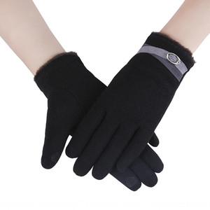 6ROzt nuovo inverno caldo caldo ciclismo biciclette pile-catching touch screen non Pilling bicicletta guanti con i guanti di velluto