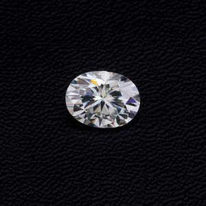 3x5~10x14mm White D Color VVS1 Oval Cut Moissanite Stone With GRA Certificate