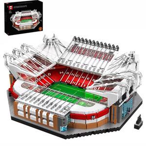 10272 Old Trafford Manchester 3908PCS Creator İl Sokak Görünümü Modeli Yapı Setleri Taşları Tuğlalar Oyuncak Çocuk Hediye Uyumlu 10202