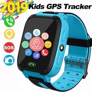 Smart Orologio Cellulare per bambini con GPS Tracker Sos torcia elettrica sveglia Security Zone Chat vocale del regalo di compleanno compatibile per 4 -12 ragazza dei ragazzi