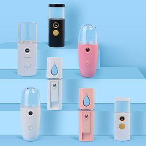 Mini Mist Sprayer Facial Body Nebulizer Steamer Moisturizing Skin Care Tools 30ml 20 ml Face Spray Beauty Instruments Novelty Gifts HH9-3232